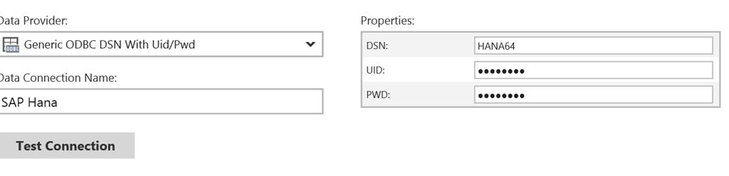 How to connect your Datazen server to SAP HANA via ODBC