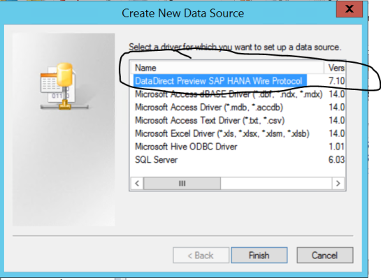 How to connect your Datazen server to SAP HANA via ODBC